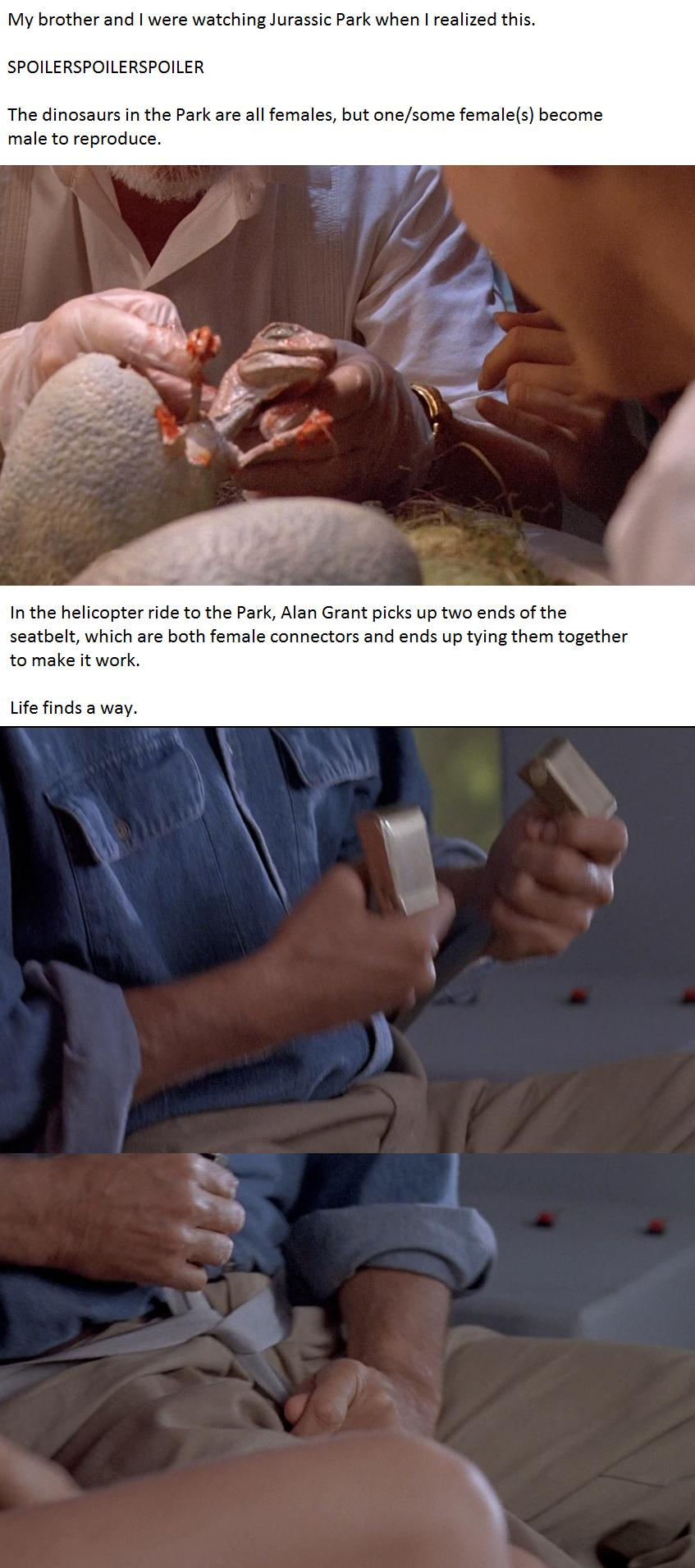 jurassic park life finds a way