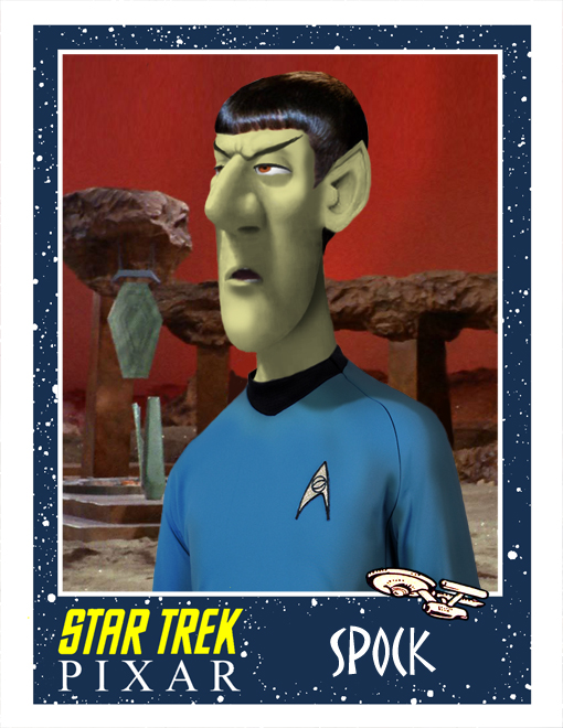 pixar spock