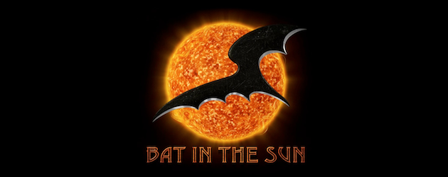 bat in the sun