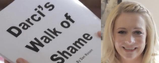 darci's walk of shame melissa joan hart
