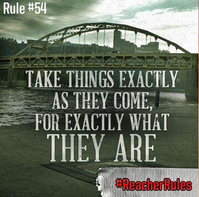 reacher advice one