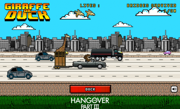 hangover 3 game screen