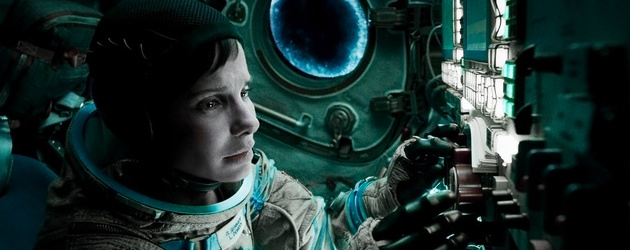 Sandra Bullock in Alfonso Cuaron's Gravity