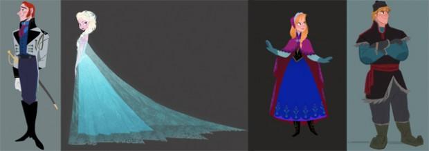 Concept Art For Disney's FROZEN
