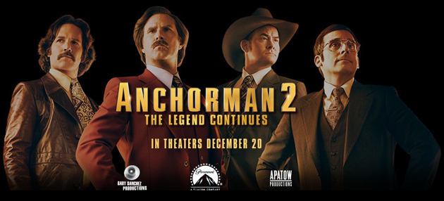 Anchorman 2 Instagram Viral Contest