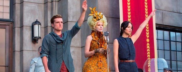The Hunger Games: Catching Fire Jennifer Lawrence Josh Hutcherson Image