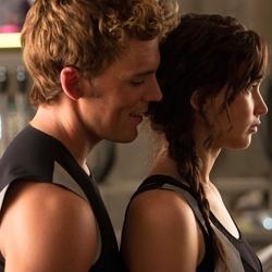 The Hunger Games: Catching Fire Jennifer Lawrence Sam Calflin Image
