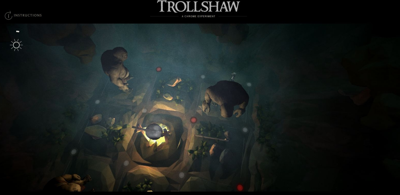 The Hobbit: The Desolation Of Smaug Google Chrome Experiment Trollshaw Image