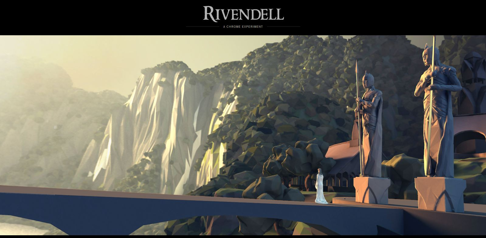 The Hobbit: The Desolation Of Smaug Google Chrome Experiment Rivendell Image