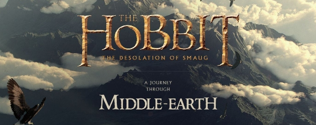 The Hobbit: The Desolation Of Smaug Google Chrome Experiment Header Image