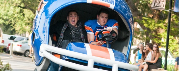 22 Jump Street starring Channing Tatum and Jonah Hill