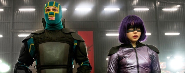 Kick-Ass 2 Aaron Johnson Chloe Moretz