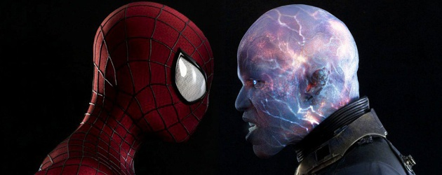 The Amazing Spider-Man 2 Electro Face Off Image