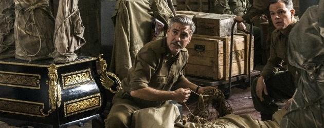 The Monuments Men George Clooney and Matt Damon