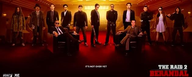 The Raid 2 Berandal teaser poster