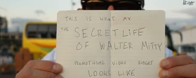 The Secret Life Of Walter Mitty viral ad image