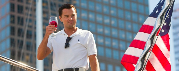 The Wolf Of Wall Street starring Leonardo DiCaprio