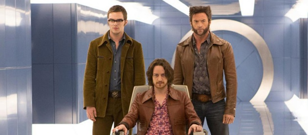 X-Men Days Of Future Past starring Hugh Jackman and James McAvoy