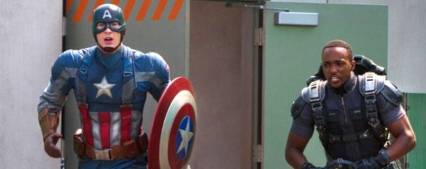 Captain America: The Winter Soldier starring Chris Evans and Anthony Mackie
