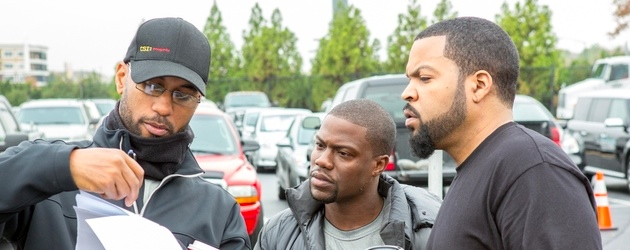 Ride Along with director Tim Story and film star Kevin Hart and Ice Cube