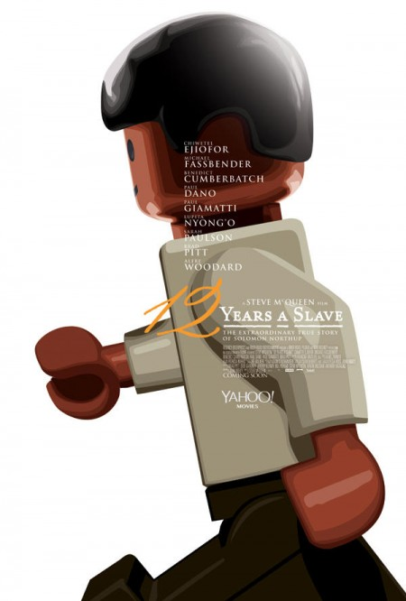 12 Years A Slave Lego Poster