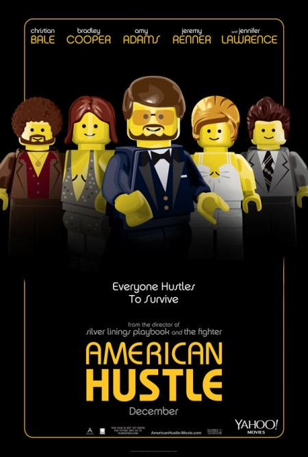 American Hustle Lego Poster