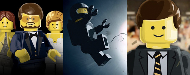 2014 Best Picture Nominees In Lego Form