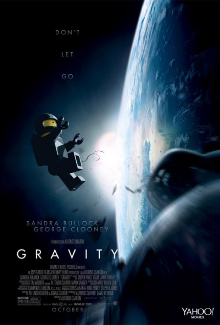 Gravity Lego Poster