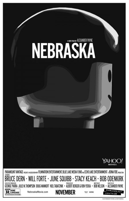 Nebraska Lego Poster