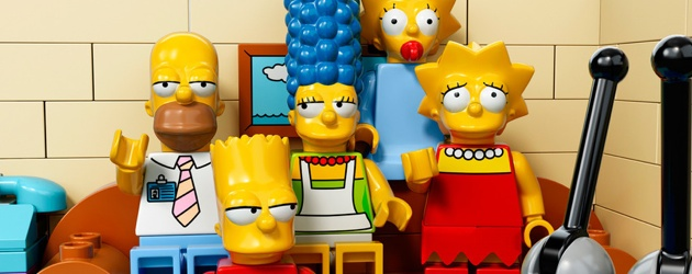 Simpsons Lego Header