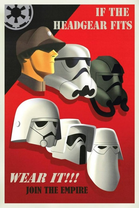 Propaganda Posters For Star Wars Rebels