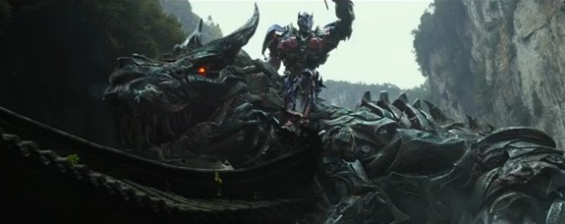 Transformers: Of Extinction Trailer features Optimus Riding Grimlock