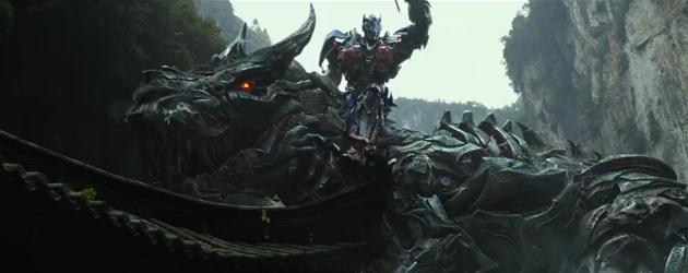 Transformers: Of Extinction Trailer features Optimus Riding Grimlock