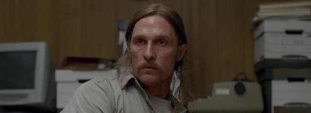 True Detective starring Matthew McConaughey, Woody Harrelson and Michelle Monaghan