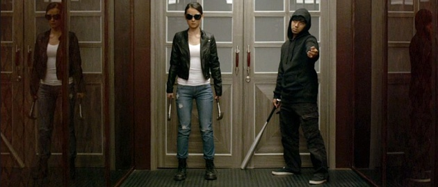 the raid 2 hammer girl baseball bat man