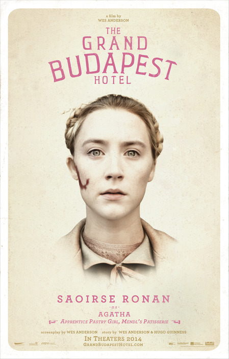 Saoirse Ronan In Grand Budapest Hotel