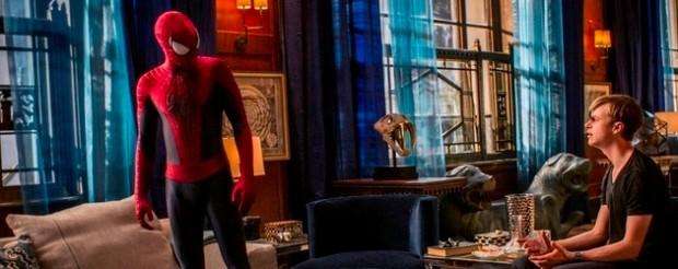 andrew garfield dane dehaan in the amazing spider-man 2