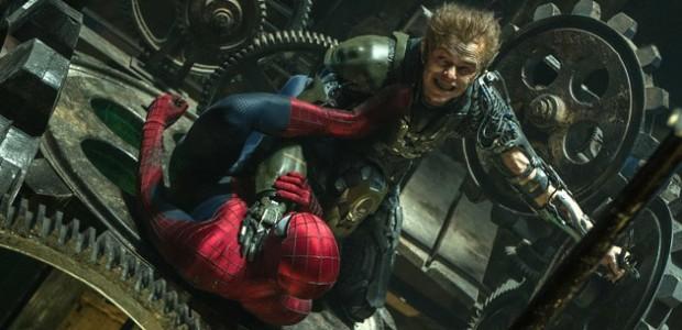 dane dehaan andrew garfield the amazing spider-man 2