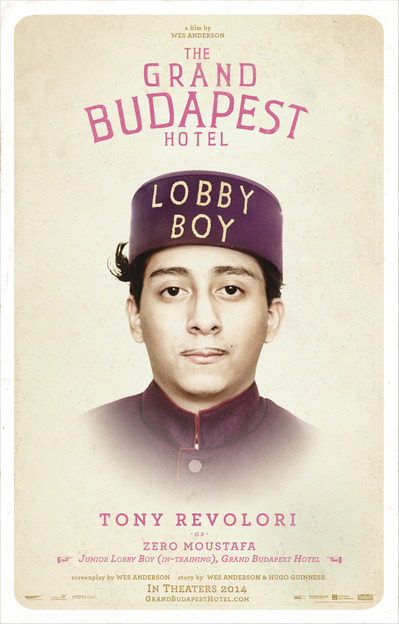 Tony Revolori in Grand Budapest Hotel