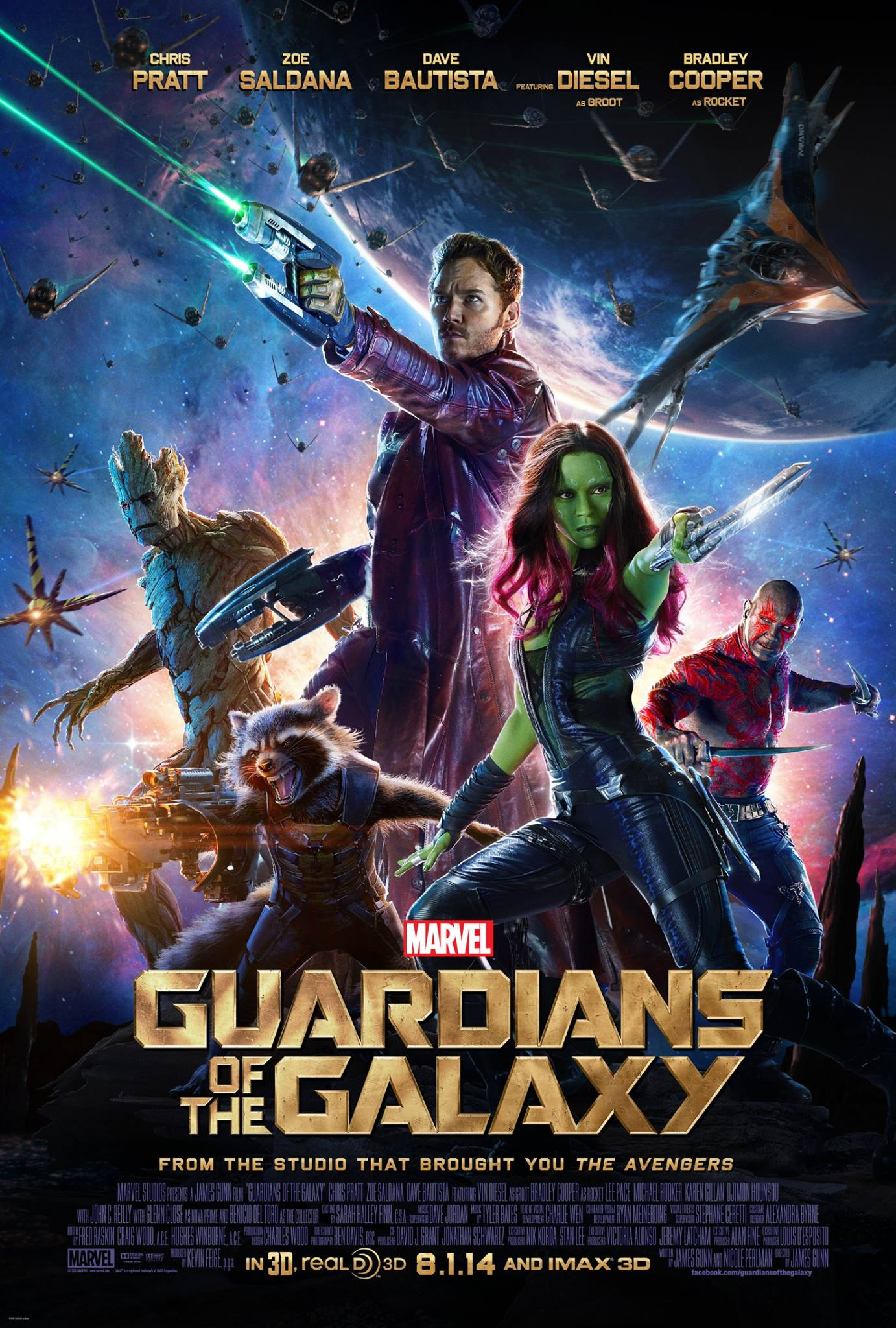 guardians of the galaxy movie poster full image