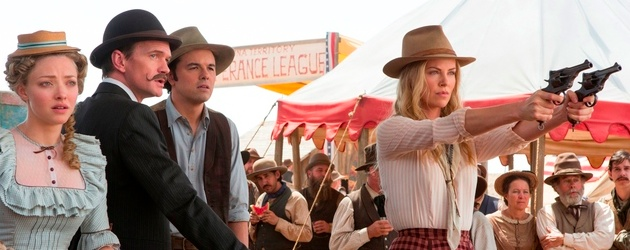 million ways to die in the west seth macfarlane charlize theron