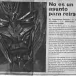 transformers age of extinction viral marketing newspaper_barcelona