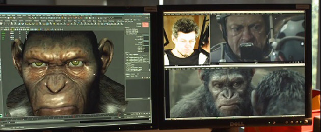 Dawn Of The Planet Of The Apes WETA Featurette Image