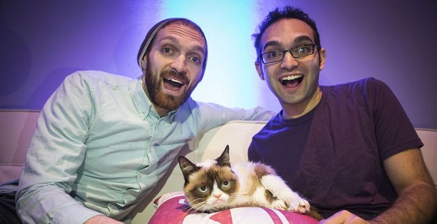 fine bros and grumpy cat