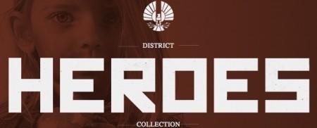 Hunger Games Mockingjay District Heroes Image Header