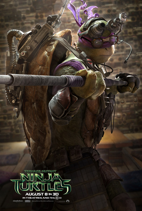 Teenage Mutant Ninja Turtle poster Donatello