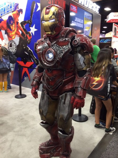 Battle Damage Iron Man