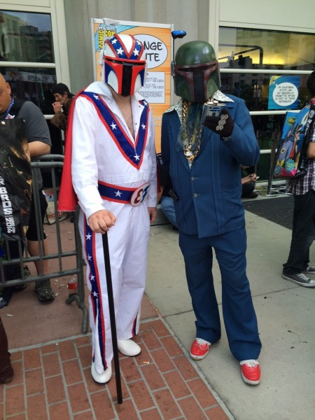 Boba Knievel and 70s Fett