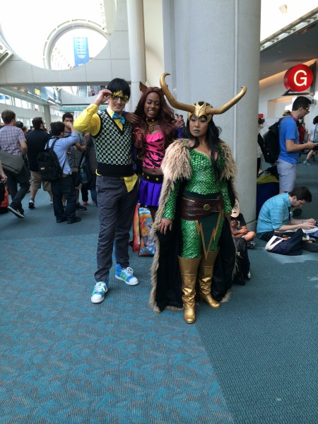 Lady Loki and Friends