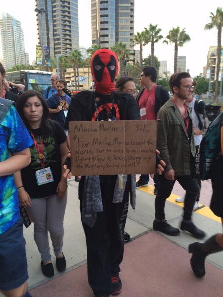 Deadpool is ready for the Rapture